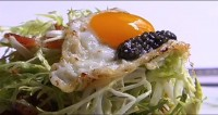 Farmed Sturgeon Part II: Cooking Up Rye's Smoked Sturgeon Salad w/Caviar