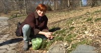 Urban Spring Foraging (Part 1): Harvesting Wild Greens in Prospect Park w/Leda Meredith
