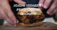 GoogaMooga Sneak Peek: Joseph Leonard's Fried Chicken Sandwich