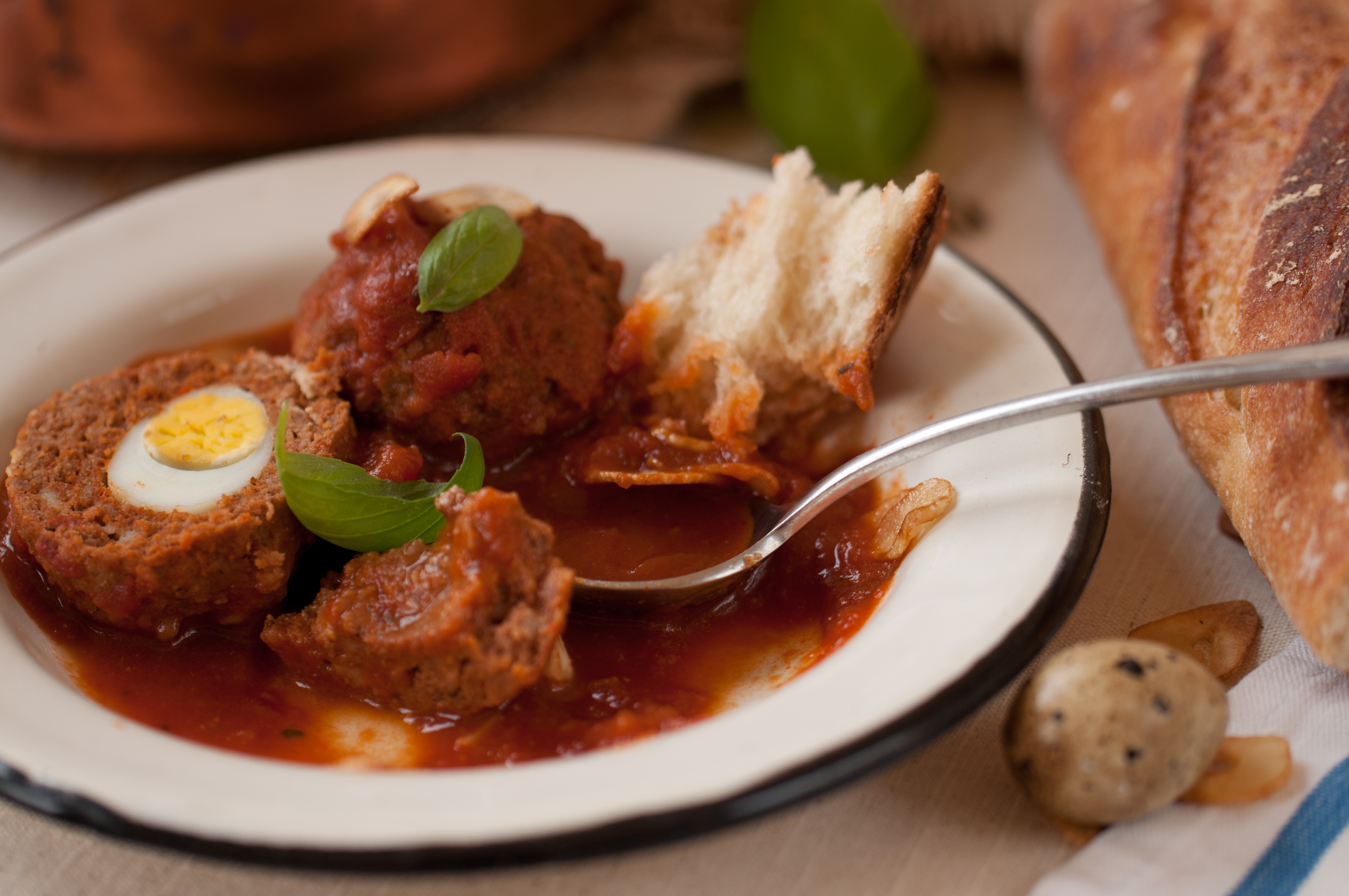 NYShuk Harissa Spiced Surprise Meatballs