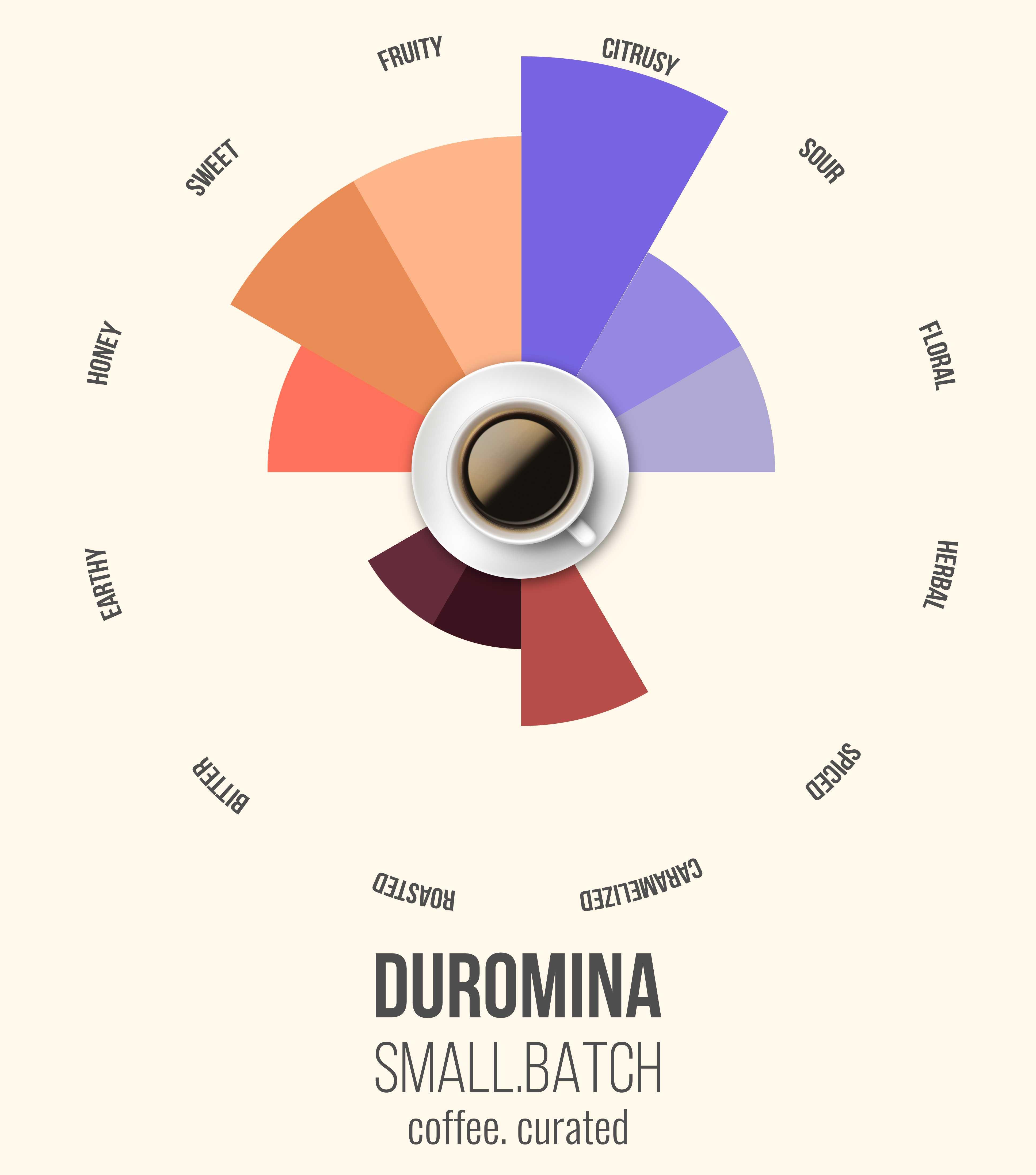Small Batch DURMOMINA coffee