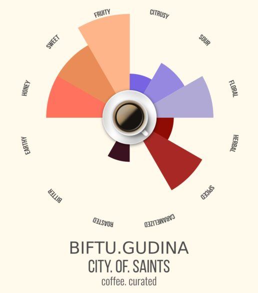 Biftu Gudina, City of Saints Coffee Roasters, coffee. curated.