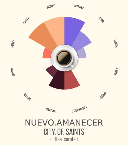 Nuevo Amanecer, City of Saints Coffee Roasters, coffee. curated.