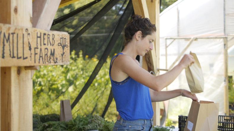 Susan Pincus, Sawmill Herb Farm, food. curated