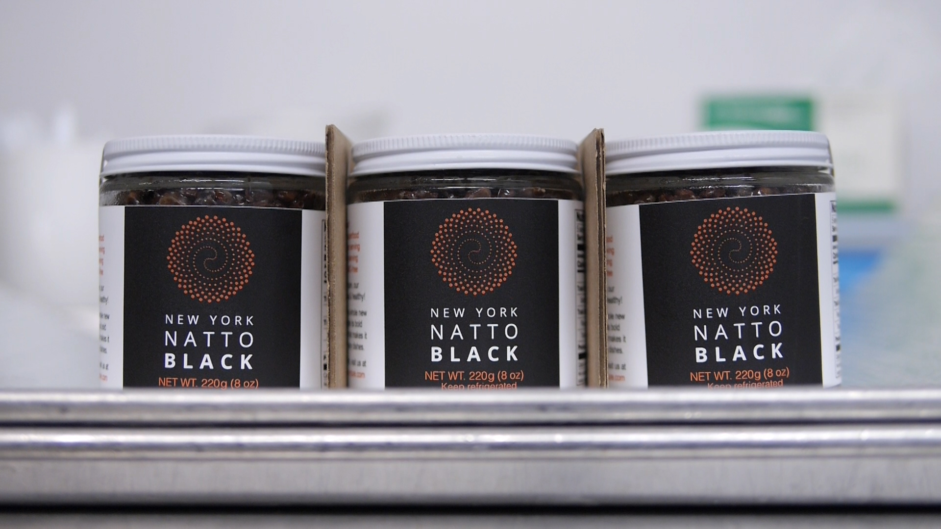 NYrture New York Natto black, food. curated.