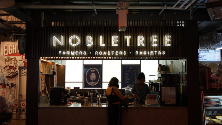 Nobletree Coffee, coffee. curated.