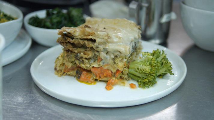 Divya's Kitchen, food. curated., lasagna